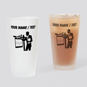 Real Estate Agent (Custom) Drinking Glass