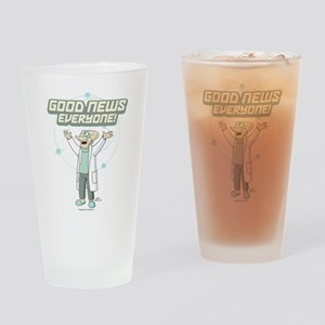 Futurama Good News Drinking Glass