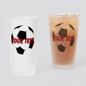 Soccer Ball Drinking Glass
