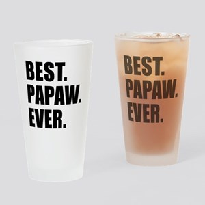 Best Papaw Ever Drinkware Drinking Glass