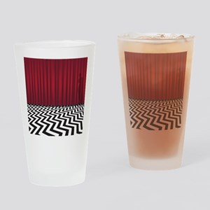 Black Lodge Waiting Room Drinking Glass
