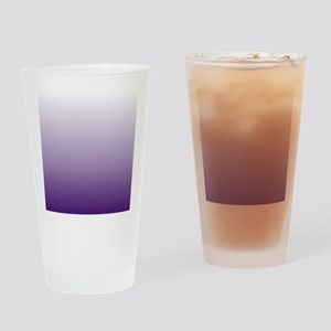 modern purple ombre Drinking Glass