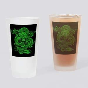 Epic Dragon Green Drinking Glass