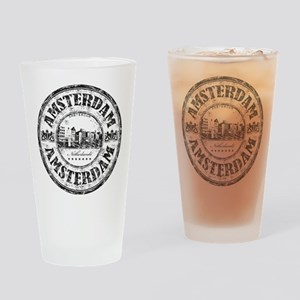 Amsterdam Seal Drinking Glass