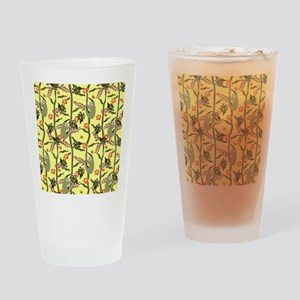 Tropical Sloth Drinking Glass