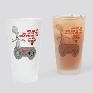 American Dad Letter X Drinking Glass
