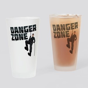 Archer Danger Zone Drinking Glass