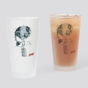 Punisher Skull Glass Drinking Glass