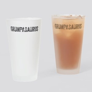 Grumpasaurus Drinking Glass