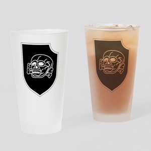3rd SS Division Totenkopf Drinking Glass