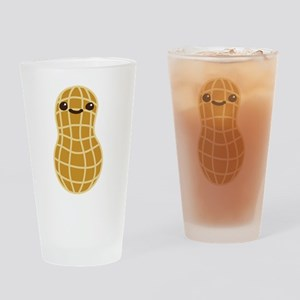 Cute Peanut Drinking Glass