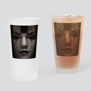 Mirrorface Drinking Glass