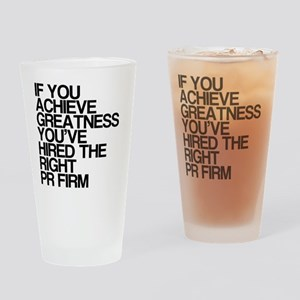 PR Firm, Humor, Drinking Glass