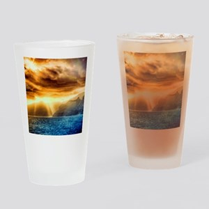 Bora Bora Island Drinking Glass