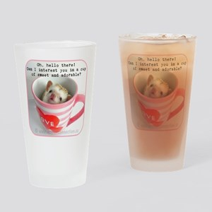 Cup of sweet and adorable Drinking Glass