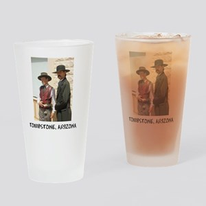 wyattanddocshirt Drinking Glass