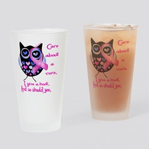 owl_give_a_hoot Drinking Glass