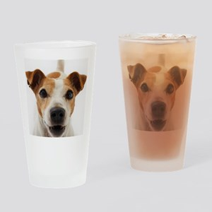 Jack Russell Terrier Drinking Glass