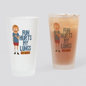 Bob's Burgers Rudy Drinking Glass