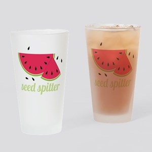 Seed Spitter Drinking Glass