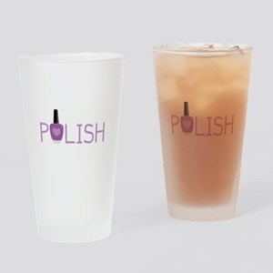 Nail Polish Drinking Glass