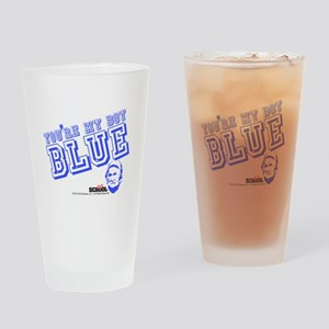 Blue Drinking Glass