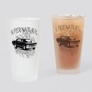 Supernatural Impala Drinking Glass