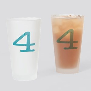Water Numbers Drinking Glass