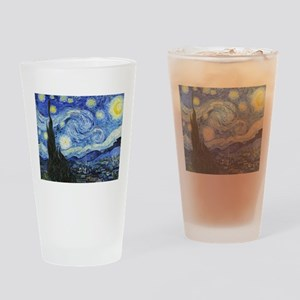 The Starry Night by Vincent Van Gog Drinking Glass