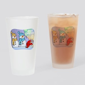Star Trek Snowmen Drinking Glass