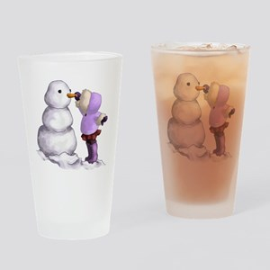 Snow Friend Drinking Glass