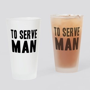 "Futurama ""To Serve Man"" Drinking Glass"