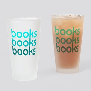 Books I Love Reading Books Drinking Glass