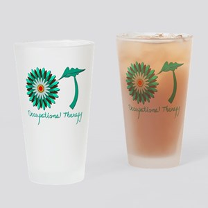 Flower power OT Drinking Glass