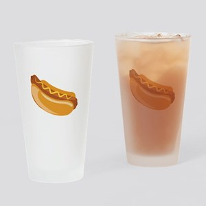 Hot Dog Drinking Glass