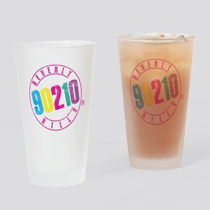 Beverly Hills 90210 Logo Drinking Glass