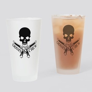 Pirate Groom's Crew Drinking Glass