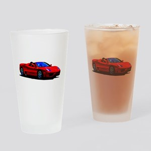Red Ferrari - Exotic Car Drinking Glass