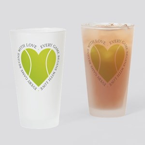 Game Love Drinking Glass