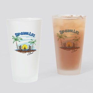 J Rowe Sandbar Life Drinking Glass