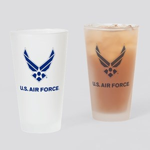 U.S. Air Force Logo Drinking Glass