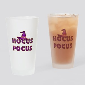 Hocus Pocus Magic Purple Drinking Glass