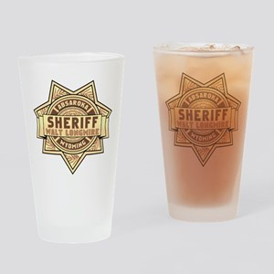 Sheriff Longmire Drinking Glass