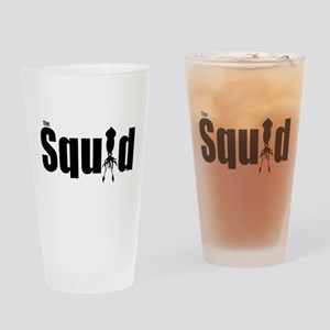 Squid Drinking Glass