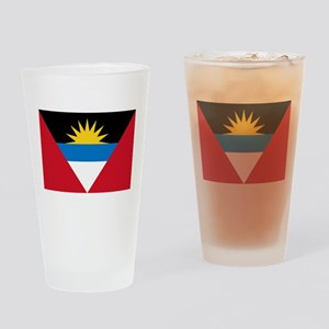 Antigua Pint Glass
