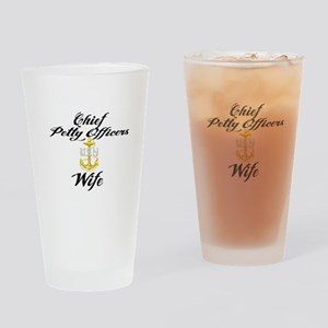 CPO Wife Drinking Glass
