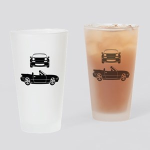 NA Miata Drinking Glass