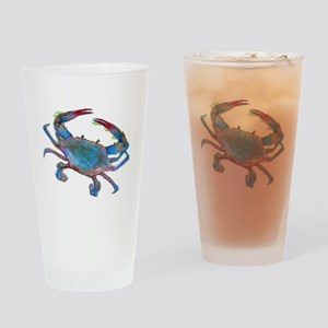 Chesapeake Bay Blue Crab Drinking Glass