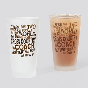 crosscountrycoachbrown Drinking Glass