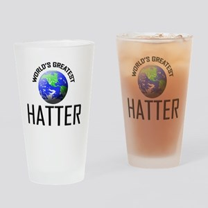 HATTER62 Drinking Glass
